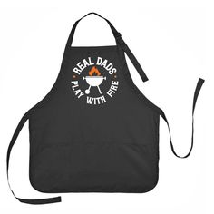 Real Dad's Play with Fire Apron, Father's Day Apron, Mens Grilling Apron Bday Gifts For Him, Fathers Day Presents, Fathers Day Crafts, Unique Birthday Gifts, Gifts For Dad, First Fathers Day Gifts, Diy Father's Day Gifts Easy, Diy Gifts For Men, Great Father's Day Gifts