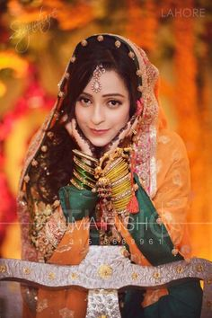 Attractive bride  pinned by mehjabeen