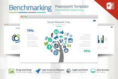 Benchmarking Powerpoint by Louis Twelve on Creative Market