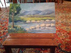 Un paesaggio ideato da me Painting, Art, Painting Art, Paintings, Kunst, Paint, Draw, Art Education, Artworks