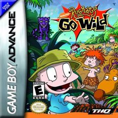 Rugrats Go Wild (Game Boy Advance) Video Game ***NEW in sealed box! Description from ebay.com. I searched for this on bing.com/images