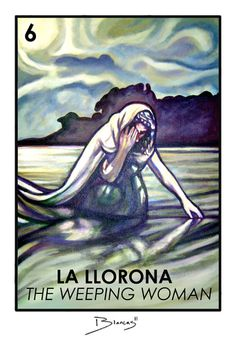 The Weeping Woman by David Blancas MEXICAN LEGEND Children are warned not to go out in the dark, for, La Llorona might snatch them and never return them. http://www.literacynet.org/lp/hperspectives/llorona.html