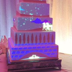 You Can Now Have a Light Show Projected on Your Disney Wedding Cake
