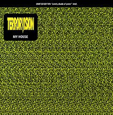 "For Sale - Terrorvision My House - Green Vinyl UK  7"" vinyl single (7 inch record) - See this and 250,000 other rare & vintage vinyl records, singles, LPs & CDs at http://eil.com"