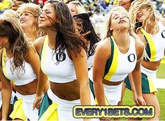 College Football Betting – Stanford Tries to Upset Oregon's Applecart – Again Football Cheerleaders, Sport Football, Cheerleading, College Football Betting, Sports Betting, Photo Galleries, Oregon, Gallery, Style
