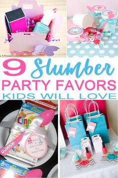 Tired of looking for the perfect slumber party favors? I have got you covered…wake up and look at the best favor ideas for a sleepover theme party. Great ideas for kids, tweens and teens. Find DIY sleepover party favors, party favor bag fillers & ideas and so much more.