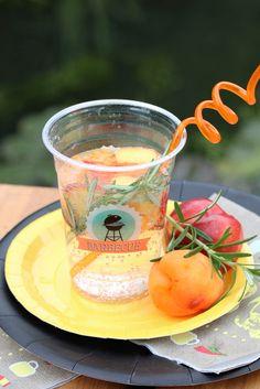Eau aromatisée abricot-romarin