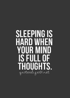 It's important to clear your mind with prayer/meditation before bed to help your body to relax, lower cortisol, and rest.