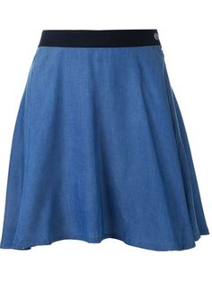 Guild Prime denim mini skirt