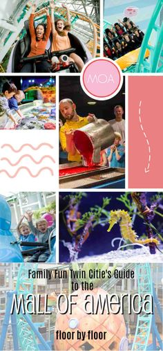 What can you do at The Mall of America? Family Fun at the Mall of America, Minnesota Mall of America, mall of america with kids, mall of america tips
