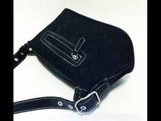 รีวิวกระเป๋า COACH Signature Small Handbag ของอเมริกาแท้มือสอง