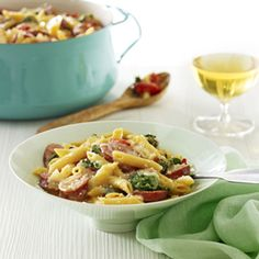Here's a mouthwatering #dinner recipe to get that unpleasant #TaxDay taste out of your mouth: http://bit.ly/OnePotPennePasta