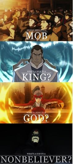 Image result for what is a king to a god