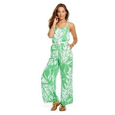 Lilly Pulitzer for Target Women's Satin Jumpsuit - Boom Boom
