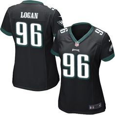 NFL Jerseys Online - Philadelphia Eagles Bennie Logan Elite Nike Men's Black Jersey ...