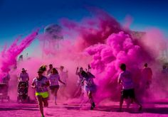 """""""Color Run"""" wooho can't wait!!  Less than 5 months away!! :)"""