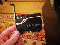 GIGABYTEs GC-AQC107 10G Ethernet PCIe Card Launched and Listed