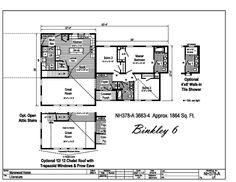 Manorwood Ranch & Cape Homes - Binkley 6 - Modular Home Plans, Modular Homes, Ridge Vent, Vinyl Flooring Kitchen, Roof Edge, Fiberglass Insulation, Brushed Nickel Faucet, Bedroom Nook