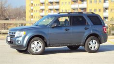 2011 Ford Escape, Steel Blue