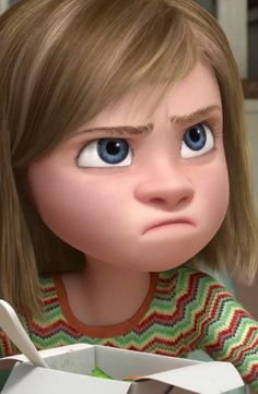 pixar inside out ~ Meet Riley!   This movie was made for me.