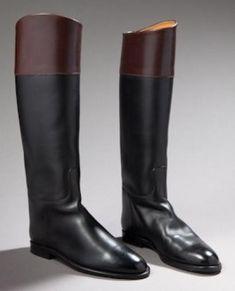 "HERMES boots ""cavalières"""