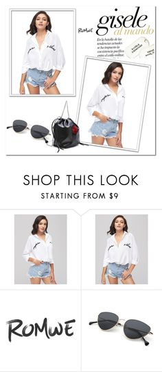 """""""Romwe 85"""" by zerina913 ❤ liked on Polyvore featuring romwe"""