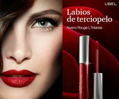 Rouge L'Intense Labial líquido color intenso y textura aterciopelada.