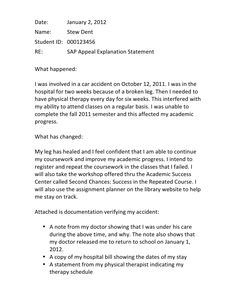 Financial aid appeal essay