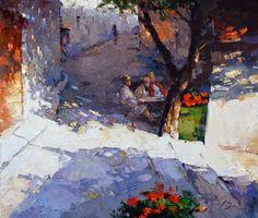 Alexi Zaitsev: Cafe in the shadows