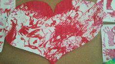 Valentijn gigantisch hartje