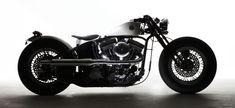 Global Website for ZERO ENGINEERING Global Market-Production bike equipped with Harley-Davidson engine featuring original rigid frame and springer fork