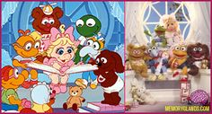 When your world looks kinda weird and you wish that you weren't there, just close your eyes and make believe and you can be anywhere! Thanks Muppet Babies.