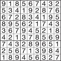 The Original Sudoku Calendar - Online Calendar - Page-A-Day Online Calendar, Calendar Pages, The Originals, January 20, Wednesday, Image