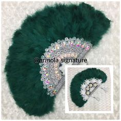 Hand Fans For Wedding, Emerald Green, Veil, Asos, Feather, Glam Style, African, Bridal, Clothing Styles