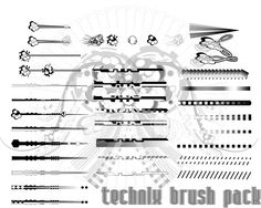 technix brush pack by r2010.deviantart.com on @deviantART