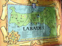 Map of Labadee Haiti