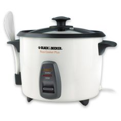 16-cup Multi-Use Rice Cooker $24.99 - I use it to soak and cook my brown rice.