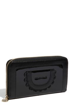 See By Chloé Patent Zip Around Wallet | Nordstrom