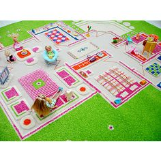 Barbie Carpet House LOL
