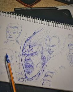 #Repost @ariel_cisterna  Fan Art Vegeta Majin   #drawing #draw #sketch #art #artist #arte #artoftheday #followforfollow #illustration #conceptart #painting #space #instaart #arielc #pen #dbz #face #artwork #character #fanart #sketching #dragonballz #instadraw #artbook #boceto #vegeta #illustration #ilustracion
