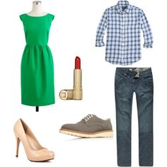 what to wear for engagement photos: green, blue, and nude