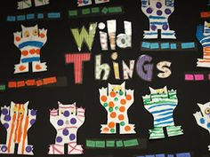 If you read Wild things with your class you should check this out.