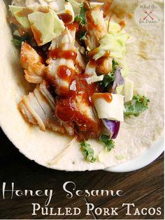 Honey Sesame Tacos