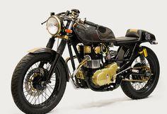 Gold & Black Yamaha XS 650 - 1982