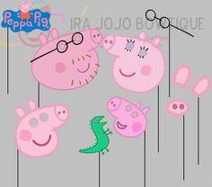 Resultado de imagen para Peppa Pig photo booth