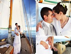love this sailboat themed wedding!!! my artwork:)