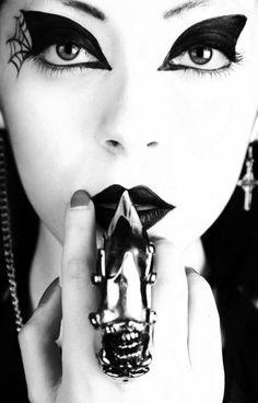 Gothic Fashion Beauty