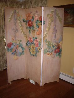 victorian dressing screens 6FT CLASSIC FRENCH AUTO DRESSING SCREEN