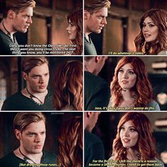 """#Shadowhunters 2x12 """"You Are Not Your Own"""" - Clary and Jace"""
