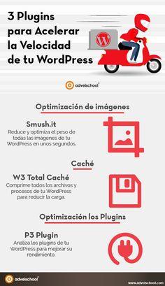 3 Plugins para Acelerar la Velocidad de tu WordPress y ser el primero.